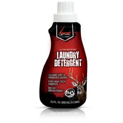 scent free laundry detergent