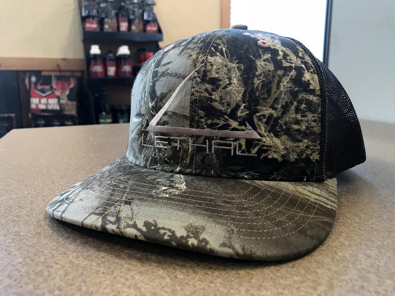 Logo Mesh Back Hat – Realtree Max-1 Camo  c78d1871e03d