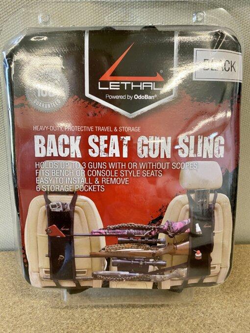 Back Seat Gun Sling - Black